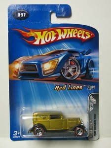 """Hot Wheels Ford Delivery 1932 """"Red Lines"""" #97 (2005) - 1"""