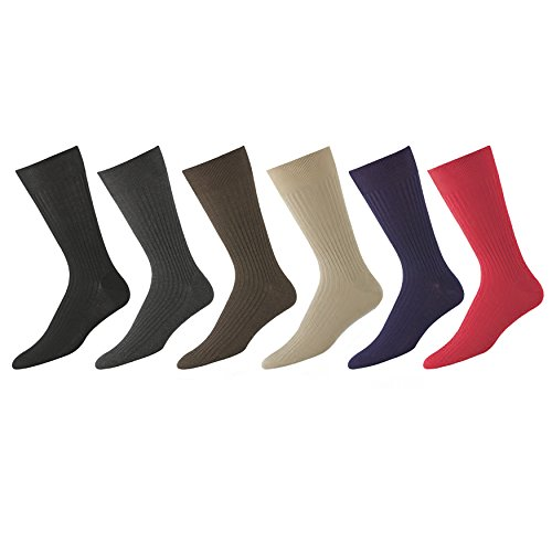 Egyptian Cotton Socks for Men Made in Italy - Many Colors Available