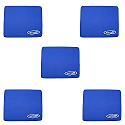 Storite Blue (5 Pack) 3mm Thickness Speed Rubber Mouse Pad 1030 Skid Resistant Surface