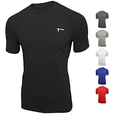 TREN Herren COOL Fitted Performance SS Tee Shirt Kurzarm Sportunterwäsche