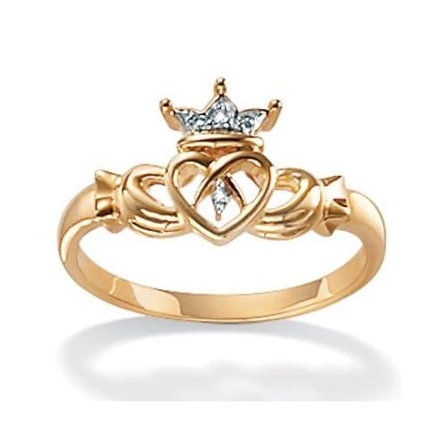 10k Gold Claddagh Ring