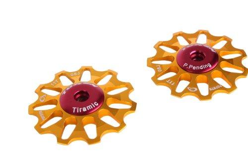 TOKEN Ceramic Rear Derailleur Pulley Jocky Wheels 11T Shimano Sram Road Bike MTB Mountain 17 grams