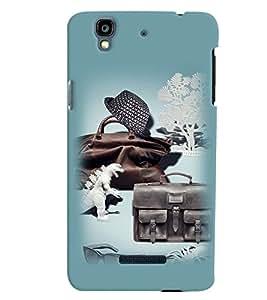 PrintVisa Cool Boy 3D Hard Polycarbonate Designer Back Case Cover for Yu Yureka PlusYU5510A