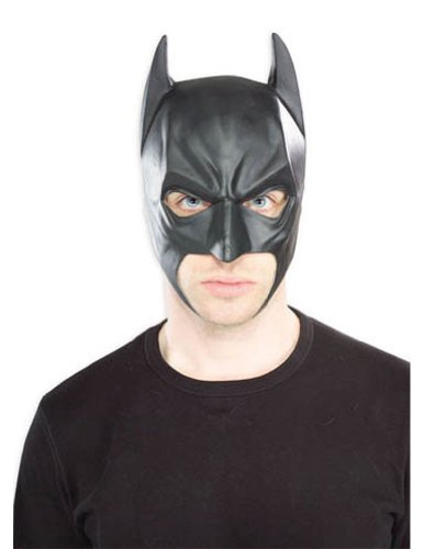 Batman Vinyl 3/4 Mask - Halloween Mask