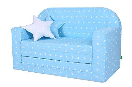 lulando classic kindersofa kindercouch kindersessel sofa bettfunktion kinderm bel zum schlafen. Black Bedroom Furniture Sets. Home Design Ideas