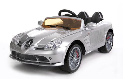 New 2014 Model 4Ch Key For Start Remote Controlled Electric Licensed Mercedes Benz Ride-On Car For Kids Ages 2-4 With Lights & Music 2 Motors 12 Volts