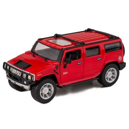 Red-2008-Hummer-H2-SUV-Die-Cast-Toy-with-Pull-Back-Action