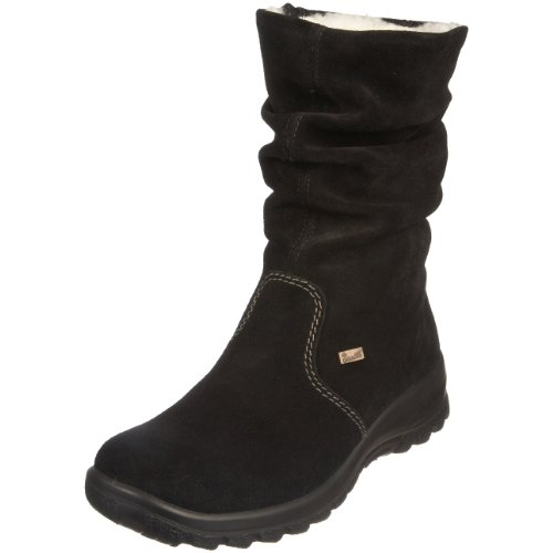 Rieker Women's Eike Z7171 Black Ankle Boot Z7171/01 7 UK