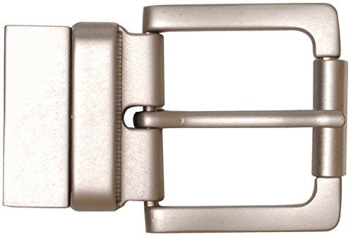 Ohio Travel Bag Reversible Roller Belt Buckle 1-1/2in (Nickel)
