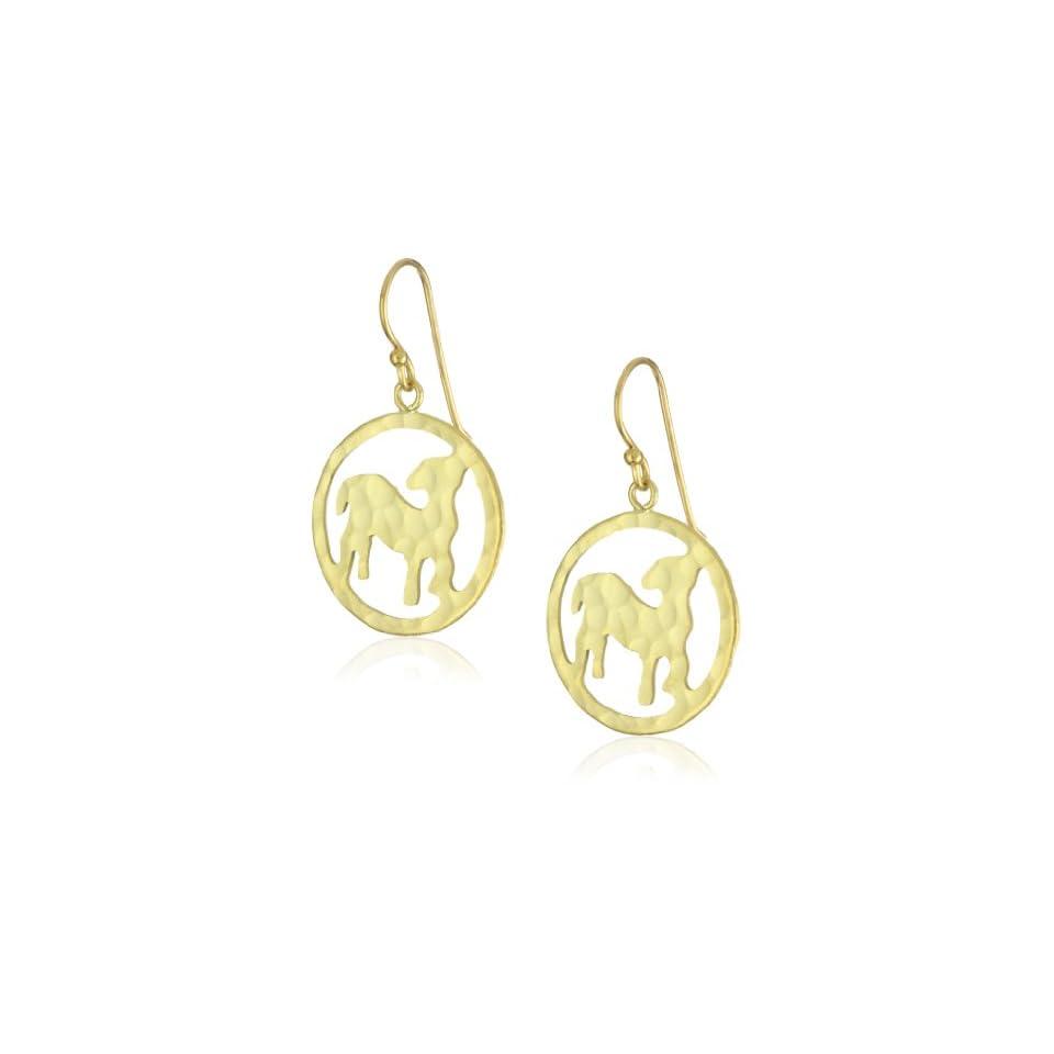 Wendy Mink Zodiacs Capricorn Cutout Earrings