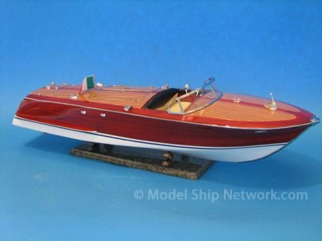 Riva Corsaro 35″ Model Speedboat – Already Built Not a Kit – Wooden Scale ...