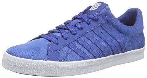 K-SwissBelmont SO T Camo - Scarpe da Ginnastica Basse Uomo , Blu (Blau (Brunner Blue Camo/White)), 42