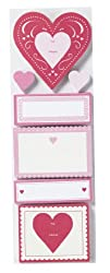 Martha Stewart Crafts Heart And Notes Label Pad