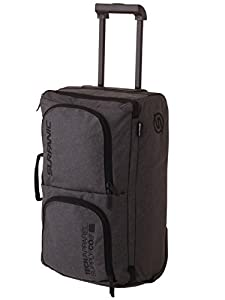 Roller Bag Carry On Luggage, 40L, Overhead Storage Bag, Travel Bag, Wheeled Luggage Blue Check / Grey (Grey)