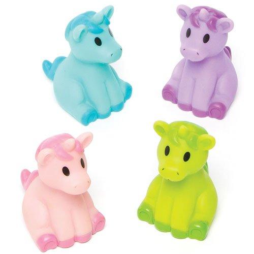 Licornes-Funky-Parfaites--Glisser-dans-les-Pochettes-surprises-pour-que-les-Enfants-puissent-Jouer-Lot-de-4