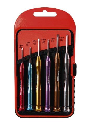 9PCS Precision magnestic Isolé Tournevis Tool Set Soft Grip Poignées Outil