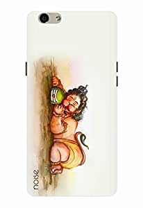 Noise Designer Printed Case / Cover for Oppo F1s / Animated Cartoons / Space Wolf