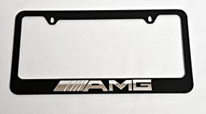 Mercedes benz amg 3d logo license plate frame for Mercedes benz license plate logo