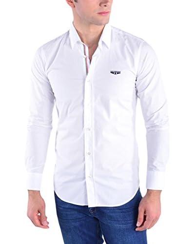 Galvanni Camisa Hombre Baltringue Blanco