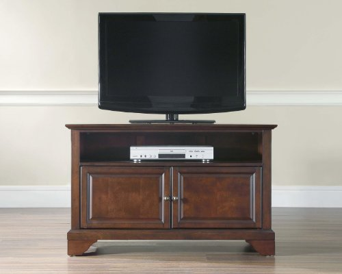 Crosley Furniture LaFayette 42-Inch TV Stand, Vintage Mahogany picture