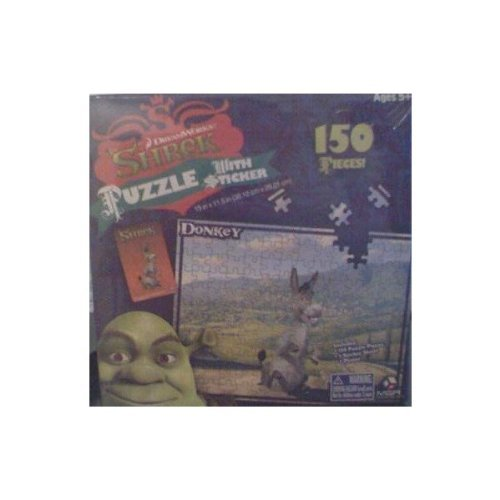Donkey (Shrek) with Extra's 150 Pieces PUZZLE