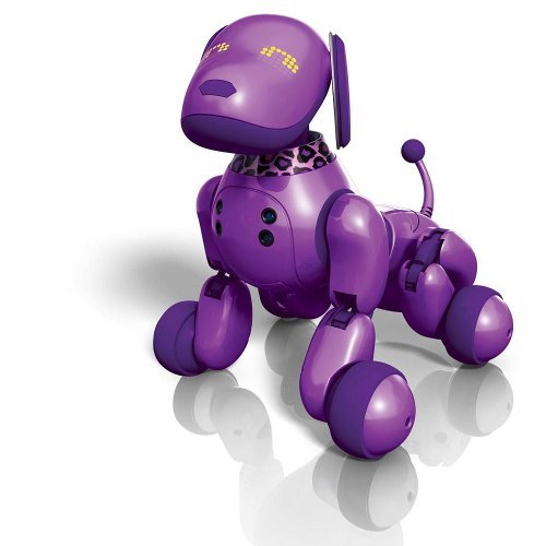 Zoomer Interactive Dog - Purple (ToysRus Exclusive)