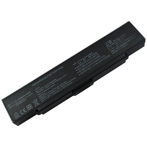 Fully Decoded 5200mAh 6-Cell 11.1V Laptop Battery Replace for SONY VGP-BPS9/S, VGP-BPS9A/S, VGP-BPS9/B, VGP-BPL9, VGP-BPS9A/B fit SONY VAIO VGN-AR53DB Battery, VGN-CR11 Battery, VGN-CR120E Battery, VGN-CR125E Battery, VGN-CR131E Battery, VGN-CR13G Battery, VGN-SZ5MN/B Battery, VGN-SZ5XN/C Battery, VGN-SZ5XWN/C Battery, VGN-SZ780 Battery (Plug-and-Play, NOT need to update BIOS)