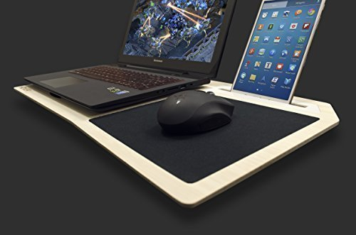 """Hover X - Ultimate Gamer's LapDesk (For 13"""" and 15"""" Laptops)"""