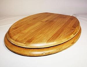 wc sitz deckel holz toilettendeckel klobrille toilettensitz holz bambus baumarkt. Black Bedroom Furniture Sets. Home Design Ideas