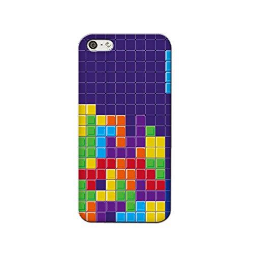 【スマホゴ】 iphone5s ケース iphone5s カバー ★テトリスB★ TPU アイフォン5S ケース アイフォン5S カバー