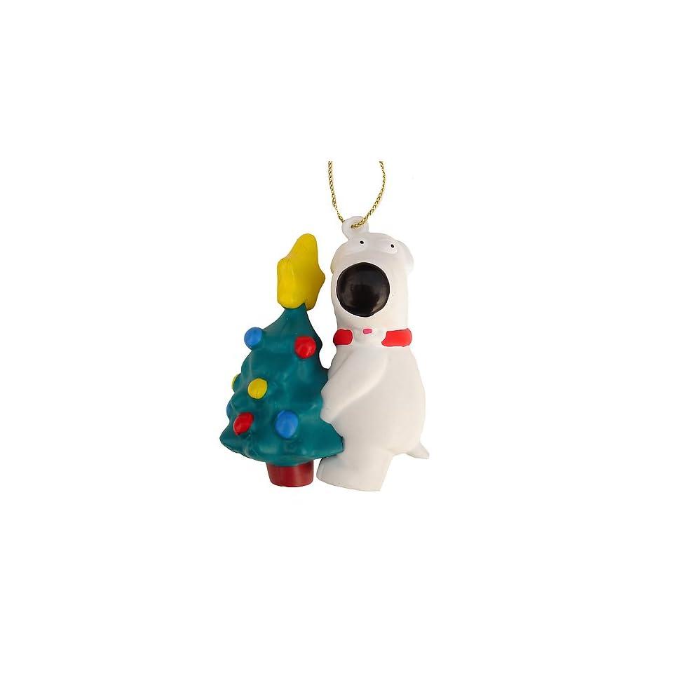 Family Guy Brian Peeing On Tree Christmas Ornament 2 #FG0110