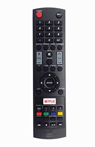 Fantastic Deal! New Remote Control GJ221-C fit for SHARP LCD TV LC32LE653U LC-32LE653U LC40LE653U LC...