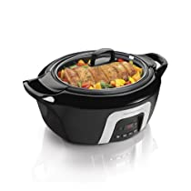 Hamilton Beach 33265 6-Quart Programmable Insulated Slow Cooker