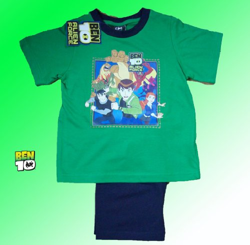 Official Ben 10 Short Pyjamas 7-8 Years tu