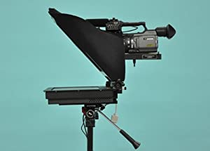 "17"" Dv Camera Mount Teleprompter"