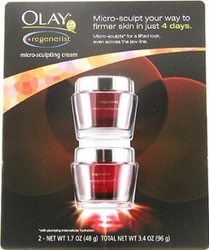 Olay Regenerist Micro-Sculpting Cream (1.7Oz) 48G Pack Of 2