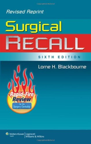 Surgical Recall, 6th Edition