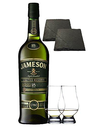 jameson-18-jahre-master-selection-limited-reserve-07-liter-2-glencairn-glaser-2-schiefer-glasunterse