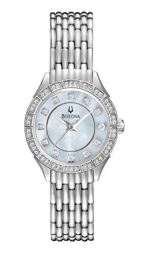 Bulova Women's 96L164 Crystal Accented Bracelet