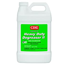CRC Heavy Duty Degreaser II, 1 Gallon Bottle, Clear/White