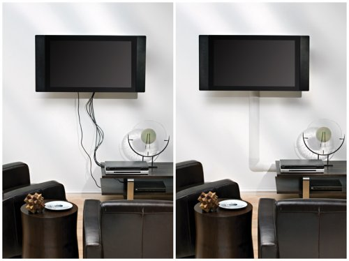 fs brand new omnimount cmk mini tv cable management. Black Bedroom Furniture Sets. Home Design Ideas