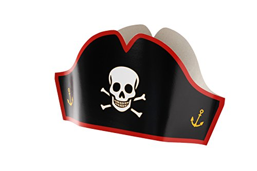 24-Pirate-Hats-Cardboard-Party-Hats-Adjustable-Sizes-For-Kids-Adults-Halloween-Pretend-Play-Party-Favors