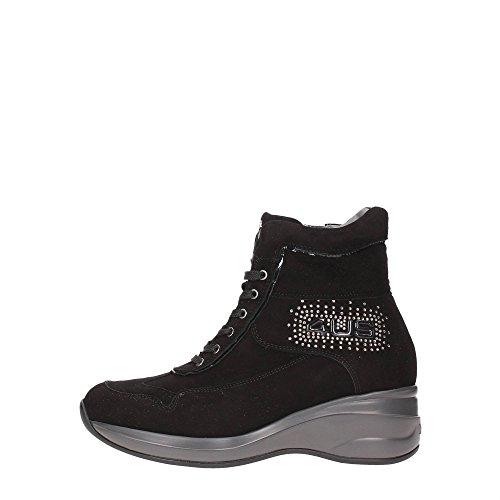 4US CESARE PACIOTTI MMED5W Sneakers Donna Crosta Nero Nero 40