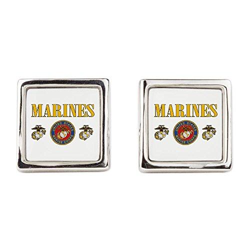 Cufflinks (Square) Marines Us Marine Corps Seal