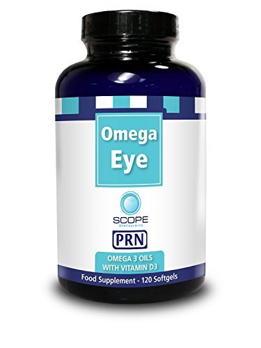 PRN Omega Eye - Omega 3 Oil with Vitamin D3 Nutritional Supplement (120 Softgels) by Omega Eye (Omega Vitamin D3 compare prices)