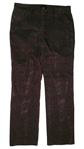 Rock & Republic Men's Casual Denim Pants Stained Pattern Brusied Purple
