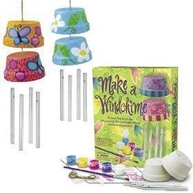 Inspiring Garden Kits Bring Fun To The Whole Family. - 4M Make a Windchime Kit each