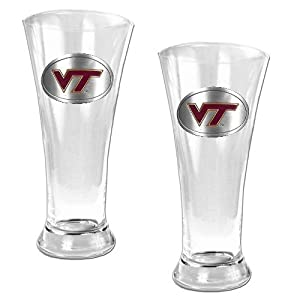 NCAA Two Piece 19-Ounce Pilsner Glass Set by Great American Products