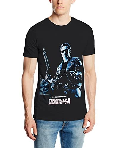 ICONIC COLLECTION – TERMINATOR Camiseta Manga Corta T2 Judgement Day