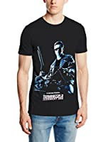ICONIC COLLECTION - TERMINATOR Camiseta Manga Corta T2 Judgement Day (Negro)